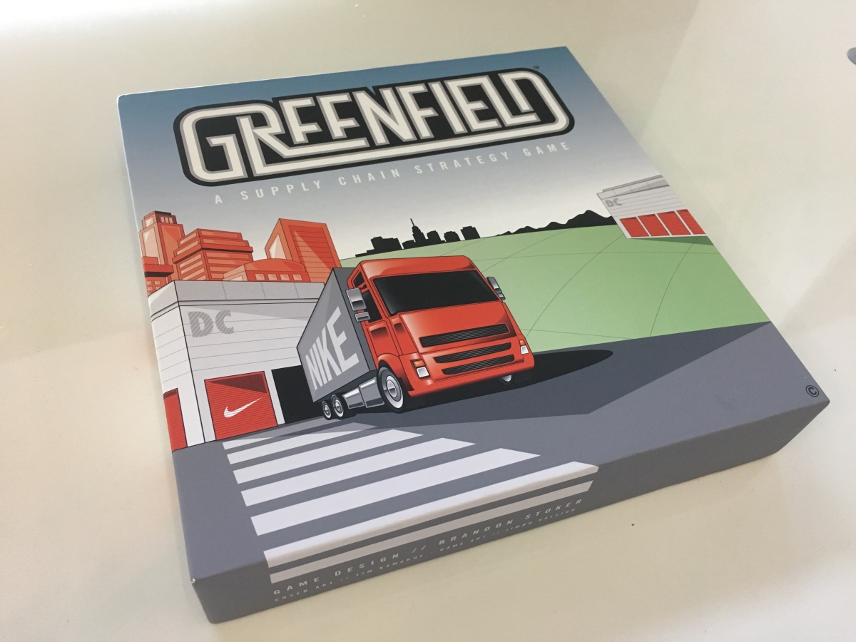 Greenfield: a Supply Chain Strategy Game